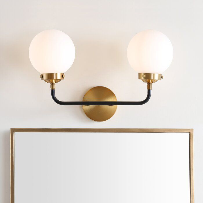 George Oliver Claudio 2-Light Armed Sconce & Reviews | Wayfair