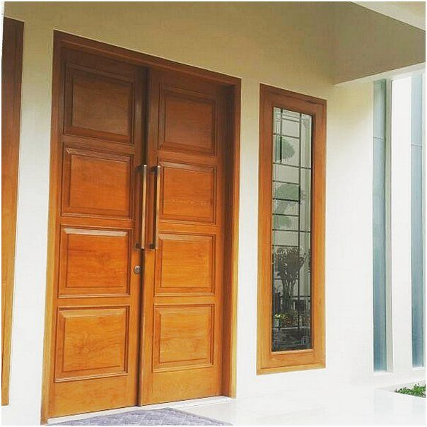 Model Pintu Rumah 2 Pintu Rumah Minimalis Modern Pintu Rumah