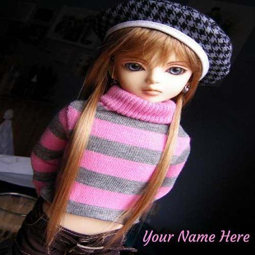 Write Your Name On Stunning Doll Picture. #dolls #pictures ...