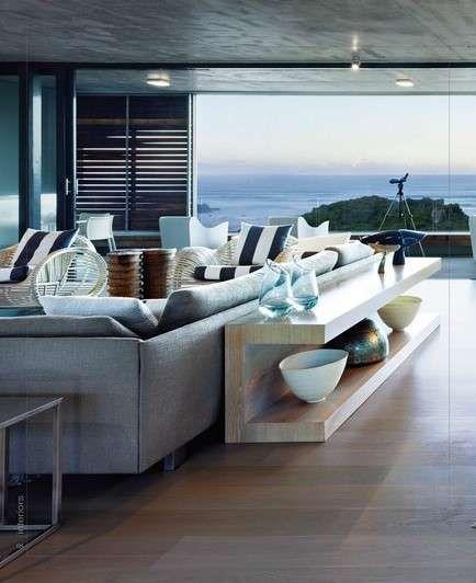 Il nostro piccolo mondo, ci assomiglia. Idee Per Arredare Un Salotto Moderno Foto Designmag Modern Beach House House Design Home