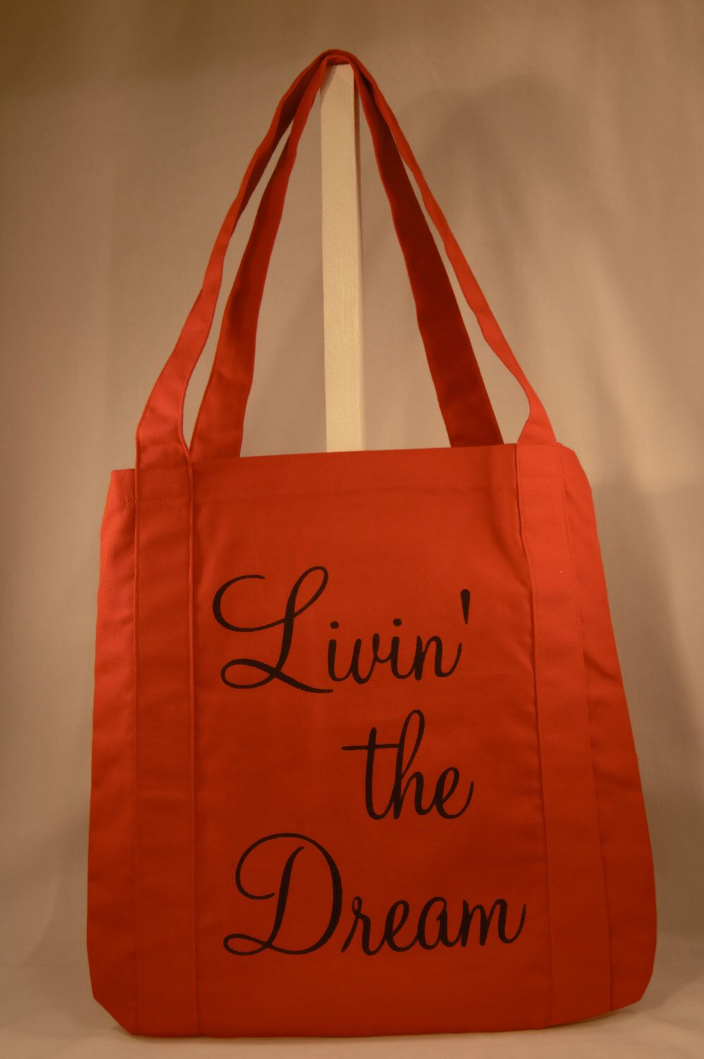 7a098eabee SAMPLE SALE - 50% off - Canvas Quote Tote Bag - 1 only available as ...
