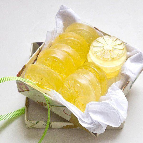 Savons citron / Lemon soap