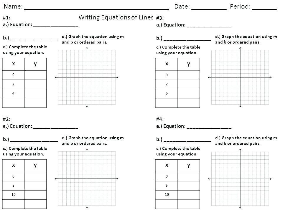 24 Finding Slope From A Graph Worksheet Writing Equations Lines Worksheet Algebra 2 Awesome W