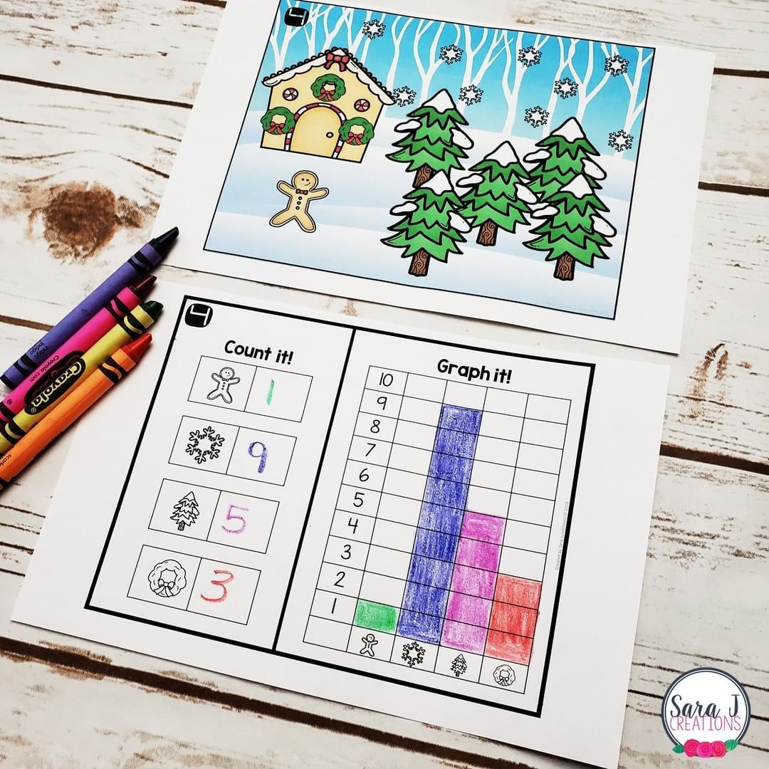 Sarajcreations Posted To Instagram Don T Wait Grab This Christmas Cou Christmas Math Worksheets Kindergarten Christmas Math Worksheets Math Art Activities