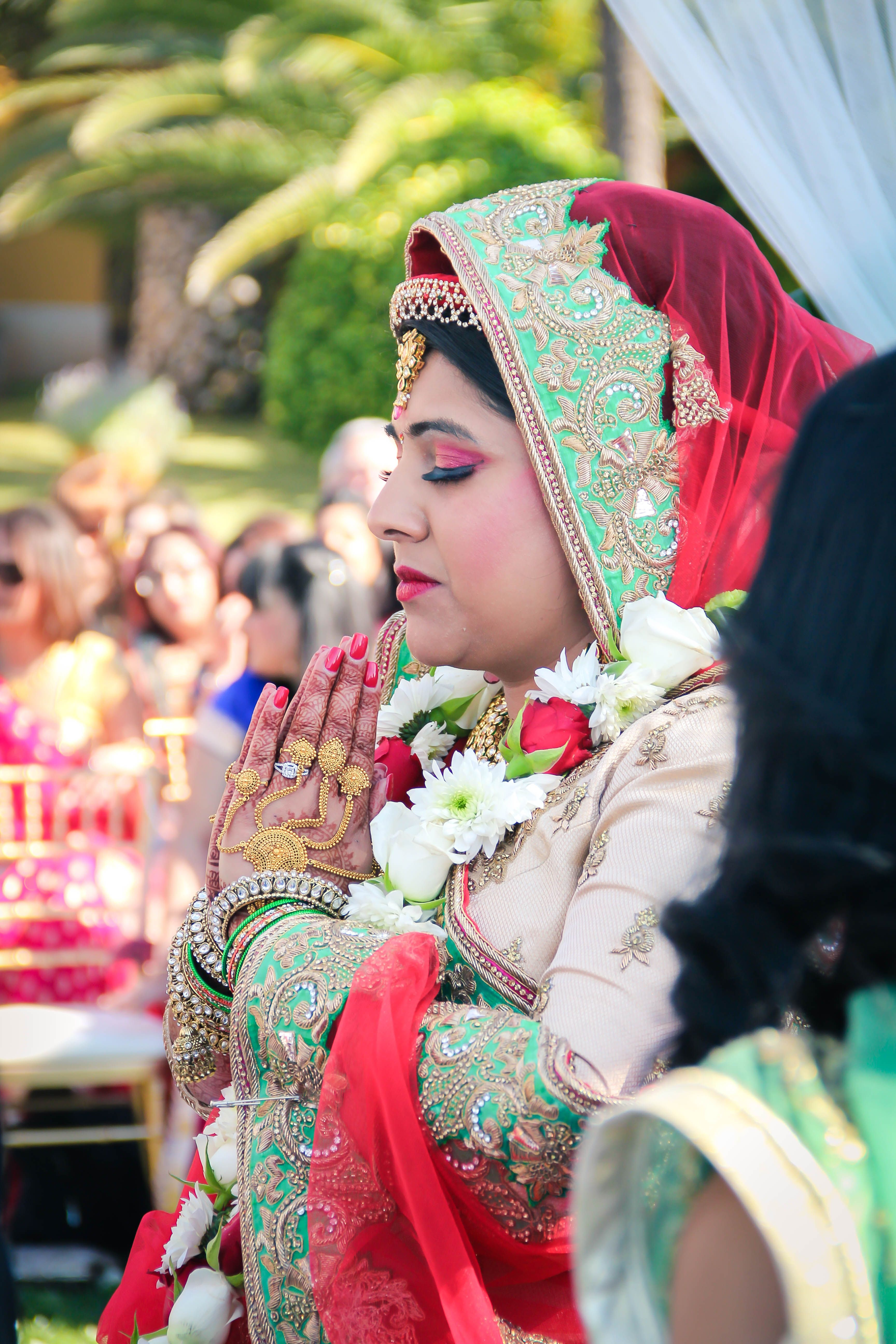 Indian Fabulous Bride Wedding Ceremony In Portugal Indianweddingportugal