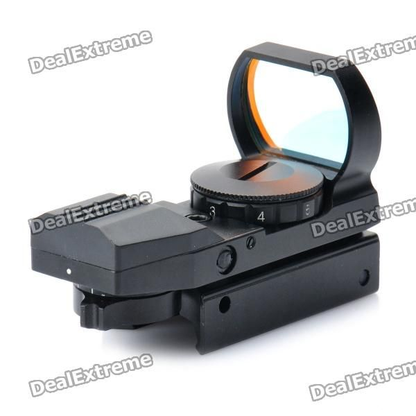 1X 33mm 4-Mode Red Dot Sight Rifle Scope (1 x CR2032)  Price: $26.40