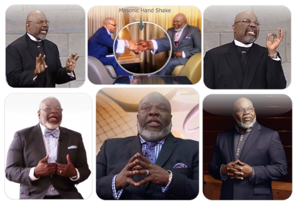 Illuminati Rings Pastors: False Ministries (2): Occult Hand Signs - Part 1