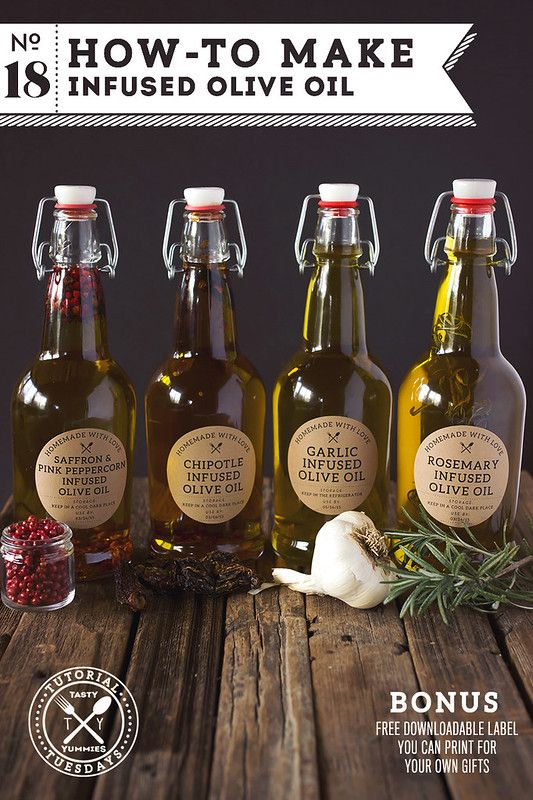How-to Make Infused Olive Oil #oliveoils