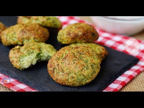 Photo of BAKED ZUCCHINI FRITTERS-FRITTELLE DI ZUCCHINE AL FORNO  The …