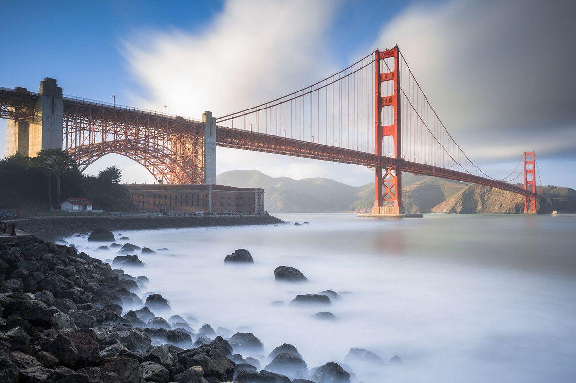 Мост Золотые Ворота: 13 фотографий