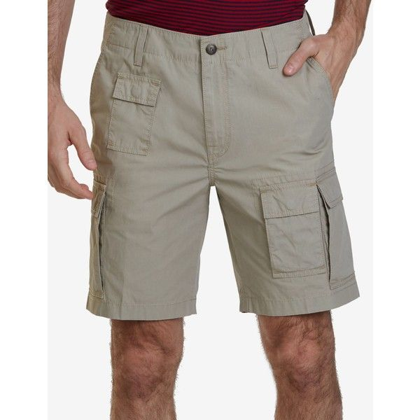 Nautica Men's Navigator Cargo Shorts ($50) ❤ liked on Polyvore featuring men's fashion, men's clothing, men's shorts, beach sand, mens clothing, polo mens clothing, nautica mens clothing, nautica men's shorts and mens cargo shorts