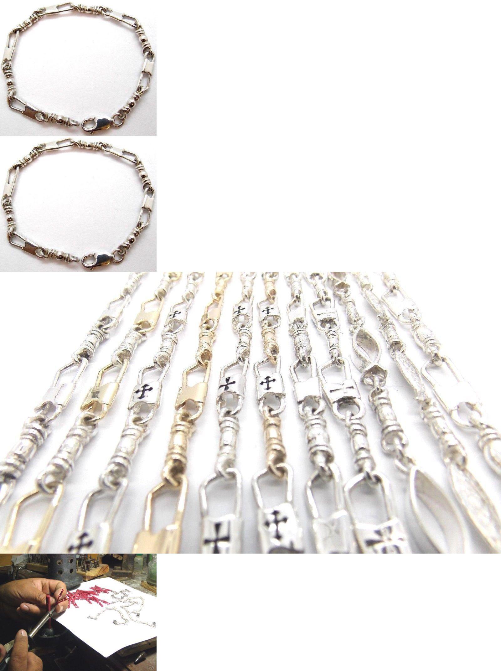 Bracelets 137835 Acts Bracelet Fishers Of Men Sterling Silver Medium Link Original Design