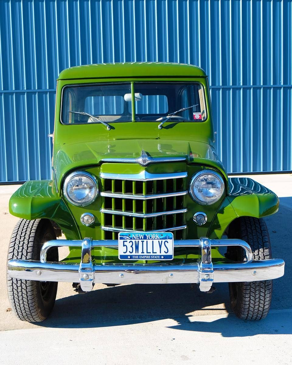 1953 Willys Utility Wagon For Sale 1928315 Hemmings Motor News Jeep