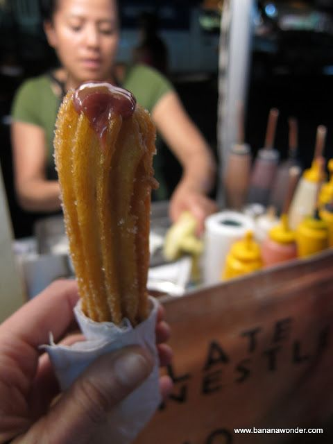 Churro / Zarzamora y Queso: Coyoacan | Mexico Travel & Food
