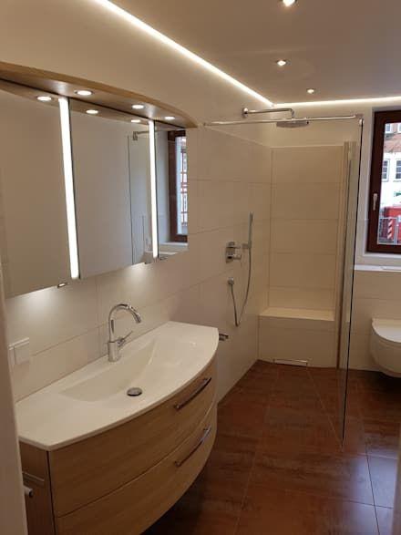 Badezimmer Ideen, Design und Bilder - badezimmerwände ohne fliesen