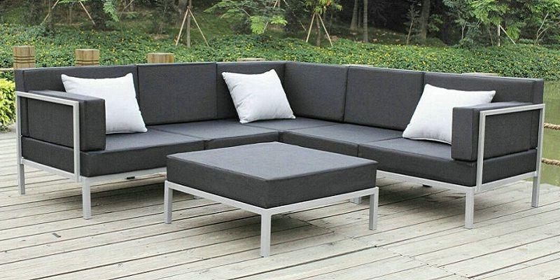patio sofa set iron patio furniture