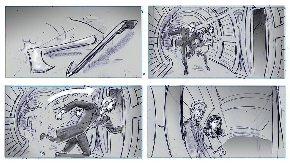 Storyboards By Mike Collins  Storyboards Graphic Storytelling