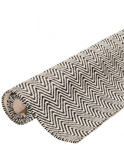 teppich matrix ives schwarz wei teppich teppich. Black Bedroom Furniture Sets. Home Design Ideas