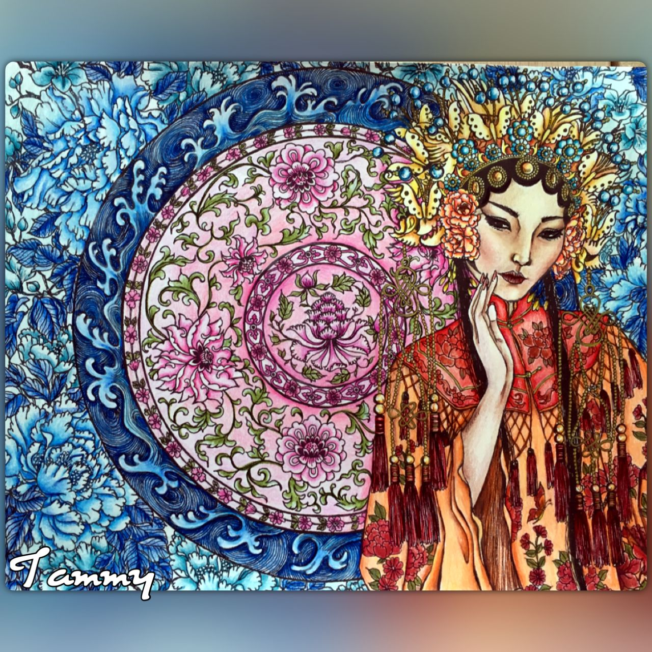 October Geisha Moon Blossoms By Katrina Pallon Geisha Color Inspiration Color