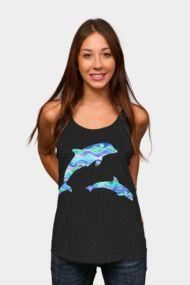 Ocean Pattern - Dolphin