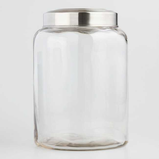 Large Glass Kitchen Jar Kitchen Jars Glass Kitchen Glass