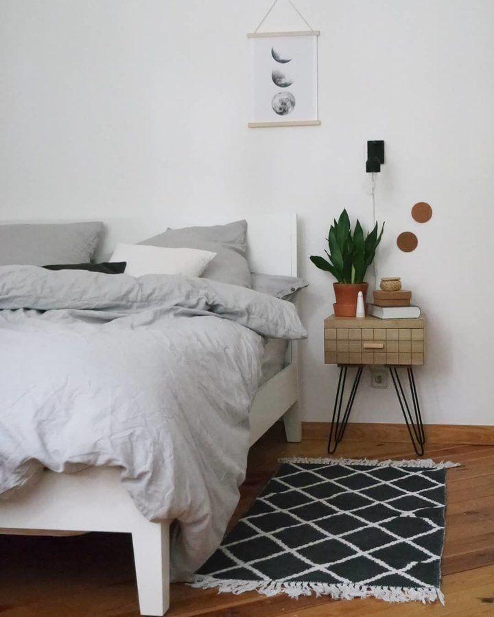 Das Schlafzimmer Genau das richtige #Schlafzimmer Pinterest - schlafzimmer ideen altbau