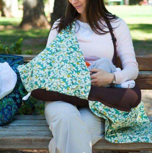 Nursing Privacy Pillow & Blanket.