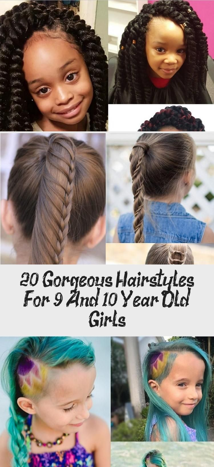 20 Gorgeous Hairstyles For 9 And 10 Year Old Girls Child Insider Everydayhairstyles Fine Everydayhairstyles W In 2020 Gorgeous Hair Hair Styles Everyday Hairstyles