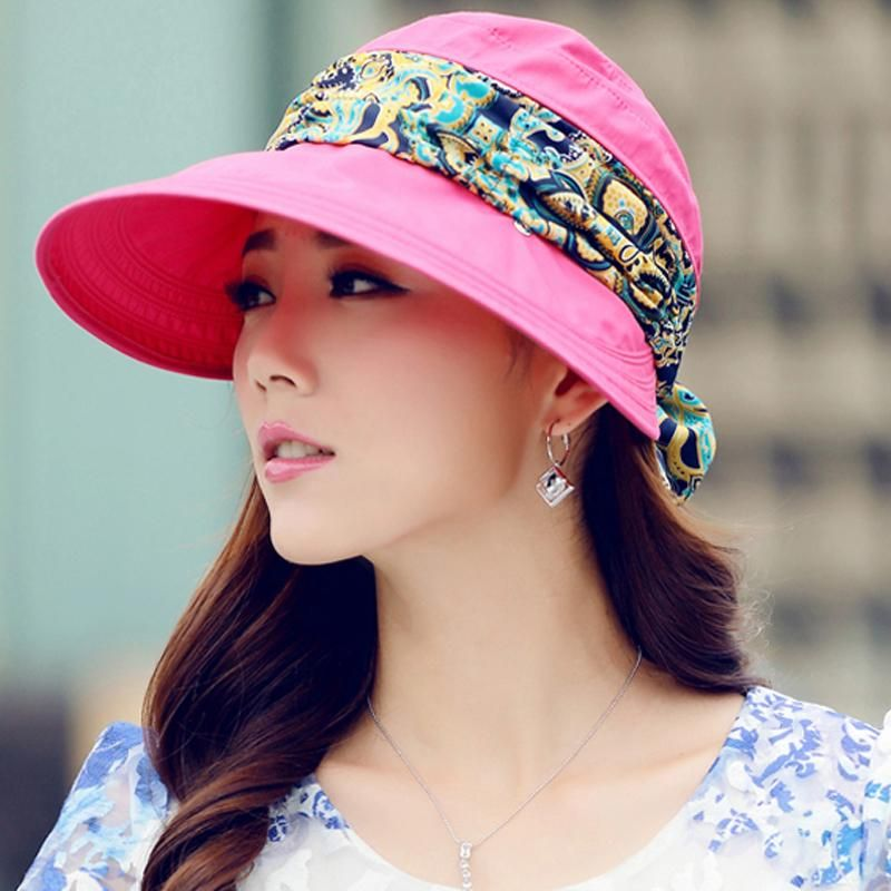 48660081 Wide Brim with Sun Hat with Bandana in 2019 | Fashion | Accessories ...