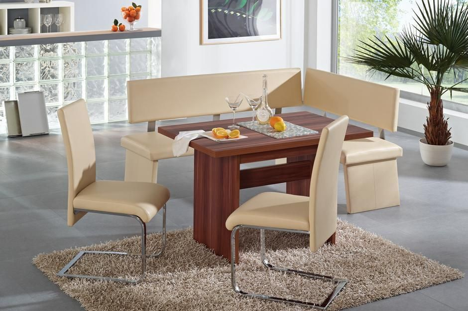 Corner Dining Set With Leather Bench Dining Room Corner Dining