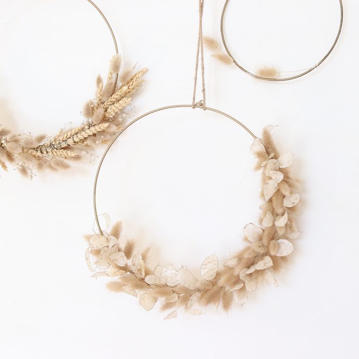 Photo of Dried flower wreaths – #