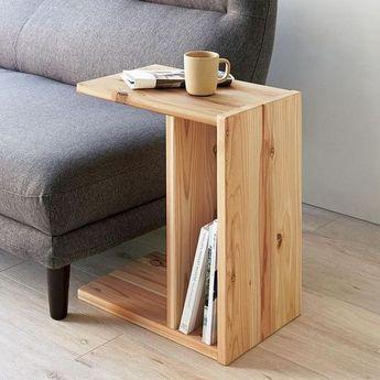 Photo of 22 Beistelltisch aus Holzform für Wohnzimmer Arm Sofa – Holz Tisch DIY