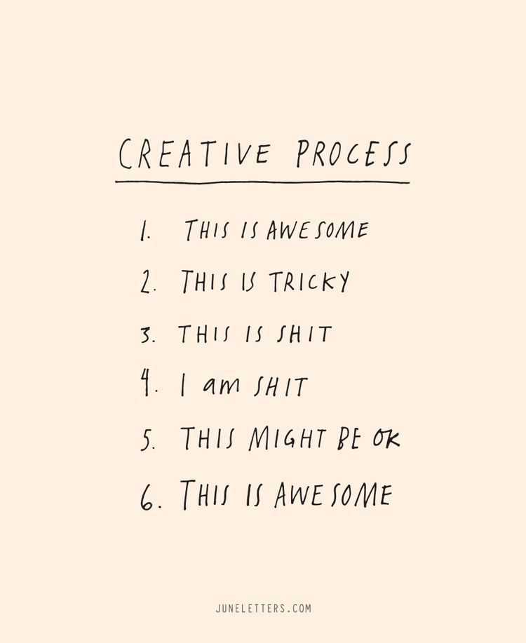 The Creative Process When I Grow Up Quotes Creative Creativity