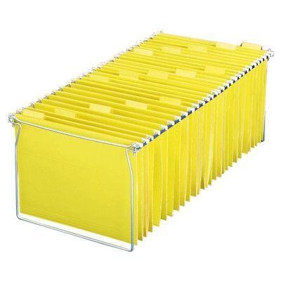 """OFFICEMATE INTERNATIONAL CORP. Adjustable Hanging Folder Frames, 12-5/8""""x9-1/8"""", Letter"""