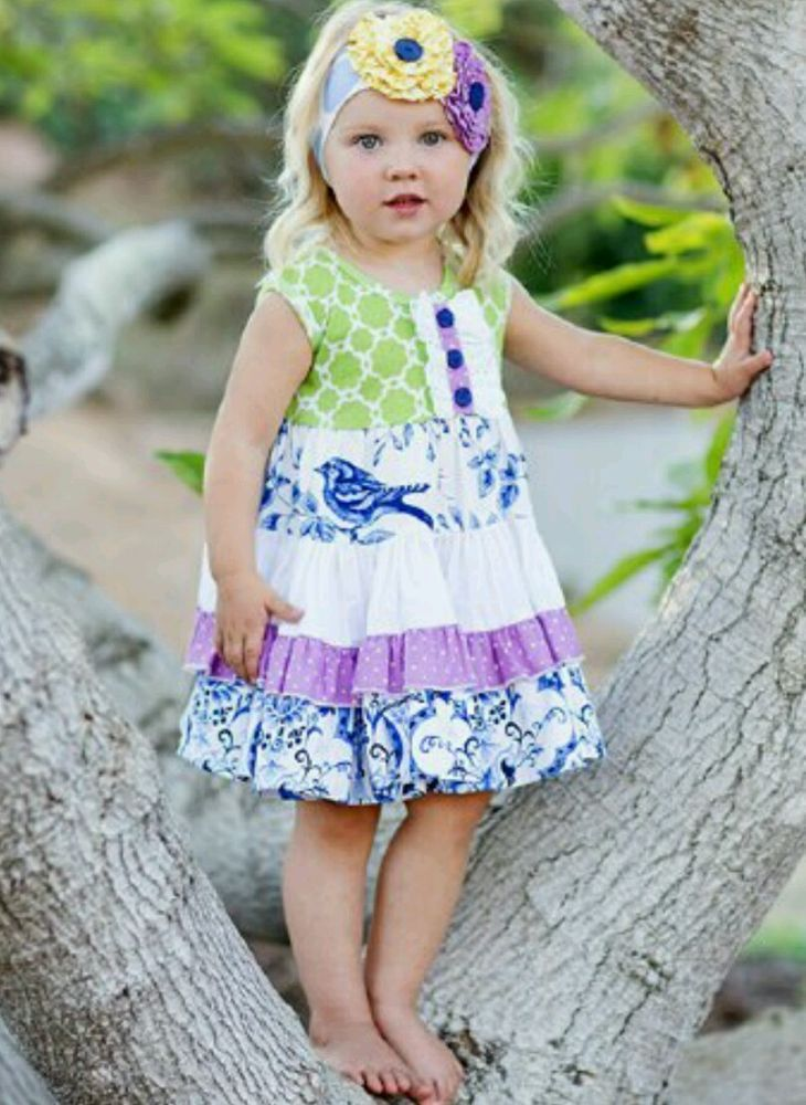 NWT NEW Boutique Giggle Moon 4T twirl dress  #GiggleMoon