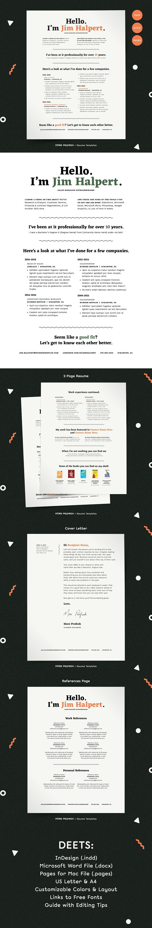Human Voiced Resume Cv Kit Resume Templates Resume Templates