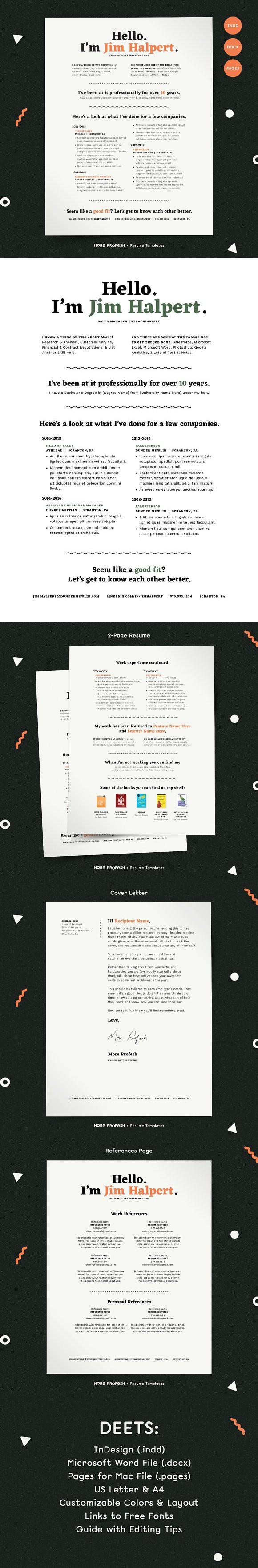 Human Voiced Resume Cv Template Cover Letter For Resume Resume Cv Resume
