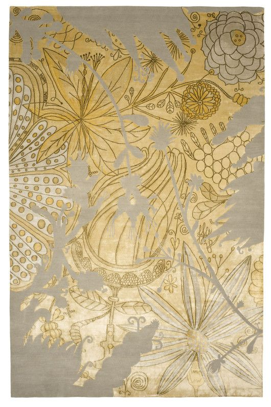 Rug by spanish artist designer jaime hayon maison pinterest the silhouette rug reflects hayons signature artistic style the intricate and highly decorative design demands the use of an extremely fine knot count to sisterspd