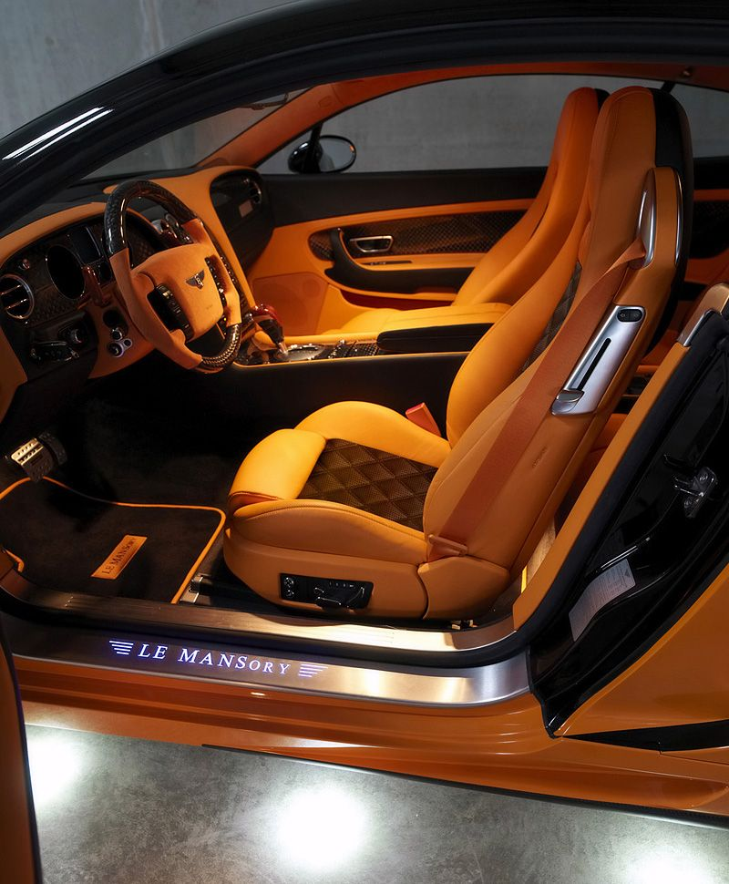Bentley Mulsanne Lemans: 2008 Bentley Continental GT Le Mansory