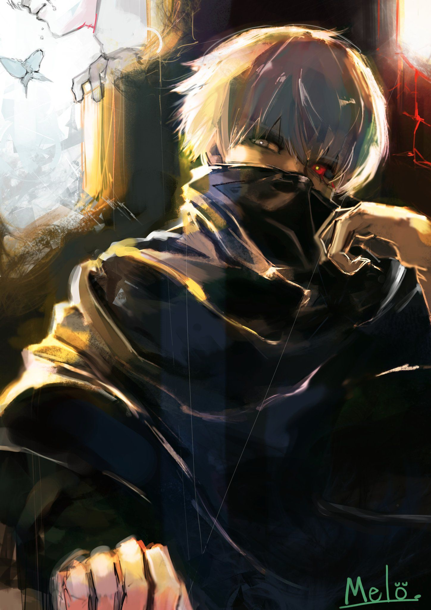 Tokyo Ghoul Kaneki Ken Anime/ Manga Pinterest