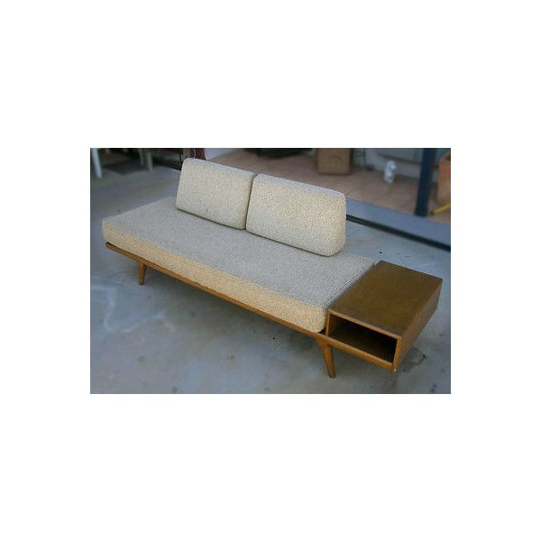 AINTIQUE VINTAGE 60s SOFA/COUCH, Mid Century Danish Fler Contemporary Design! found on Polyvore