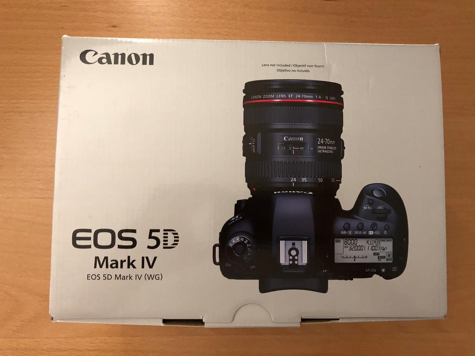 Canon Eos 5d Mark Iv Full Frame Digital Slr Camera Body Only Us Dslr 4 Model