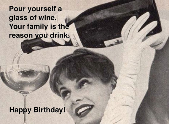 Funny Mother Birthday Card Hilarious Retro Card Vintage Card You