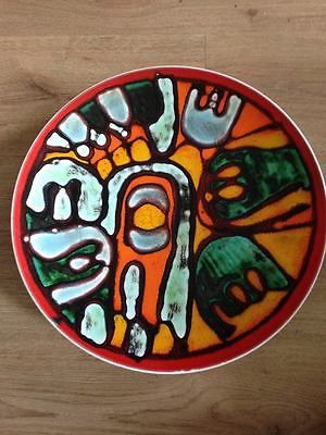 Poole Pottery *RARE* Ann Godfrey 1968-1970 *COLLECTABLE* Plate/Charger