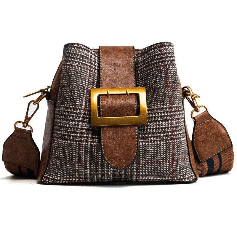 Photo of Fashion Vintage Tote Crossbody Messenger Bag