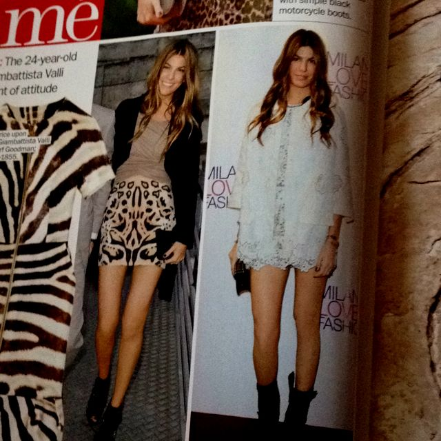 Marie Claire march 2012