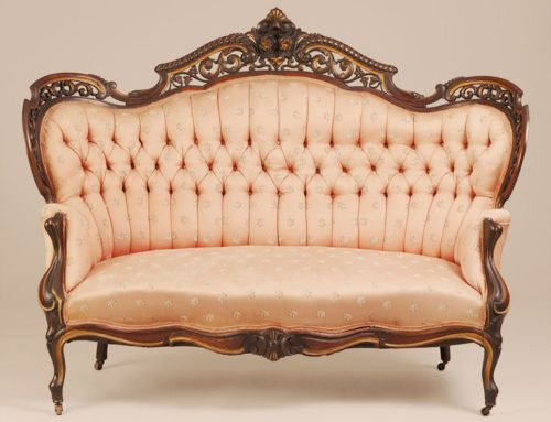Cool Peach Blush Settee Perfect Spot For Wedding Reception Pabps2019 Chair Design Images Pabps2019Com