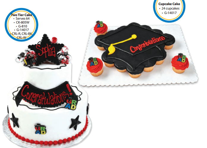 Graduation Walmart Bakery Cakes Cupcake Cakes Walmart Cakes