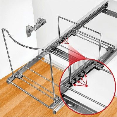 Best Lynk Professional Pull Out Bin Holder Sliding Cabinet 400 x 300