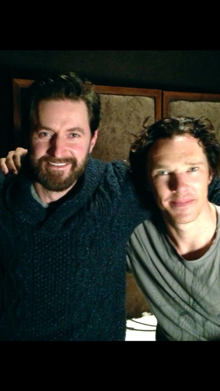 Richard and Benedict